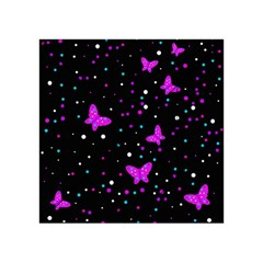 Pink butterflies  Acrylic Tangram Puzzle (4  x 4 )
