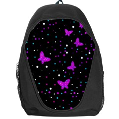 Pink butterflies  Backpack Bag