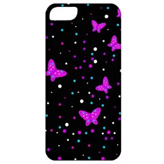 Pink butterflies  Apple iPhone 5 Classic Hardshell Case