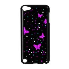 Pink butterflies  Apple iPod Touch 5 Case (Black)