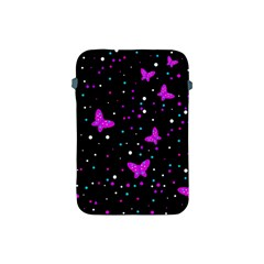 Pink butterflies  Apple iPad Mini Protective Soft Cases