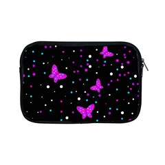 Pink butterflies  Apple iPad Mini Zipper Cases