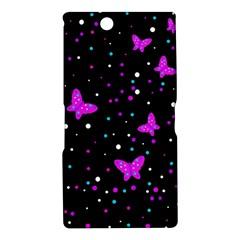 Pink butterflies  Sony Xperia Z Ultra