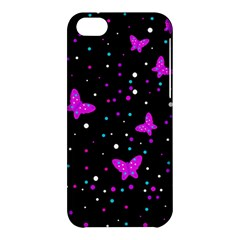 Pink butterflies  Apple iPhone 5C Hardshell Case
