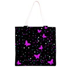 Pink butterflies  Grocery Light Tote Bag