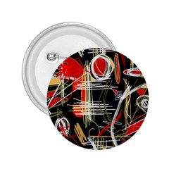 Artistic abstract pattern 2.25  Buttons