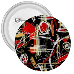 Artistic abstract pattern 3  Buttons