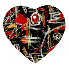 Artistic abstract pattern Ornament (Heart)