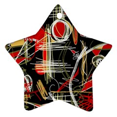 Artistic abstract pattern Ornament (Star)