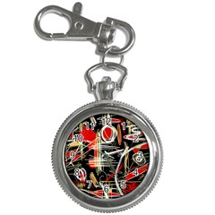 Artistic abstract pattern Key Chain Watches