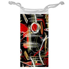 Artistic abstract pattern Jewelry Bags