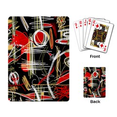 Artistic abstract pattern Playing Card