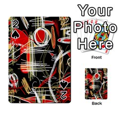 Artistic abstract pattern Playing Cards 54 Designs