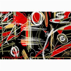 Artistic abstract pattern Collage Prints