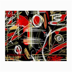 Artistic abstract pattern Small Glasses Cloth (2-Side)