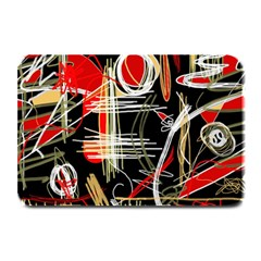 Artistic abstract pattern Plate Mats