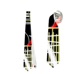 Artistic abstract pattern Neckties (One Side)