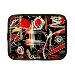 Artistic abstract pattern Netbook Case (Small)