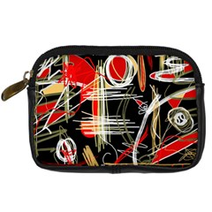 Artistic abstract pattern Digital Camera Cases