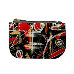 Artistic abstract pattern Mini Coin Purses