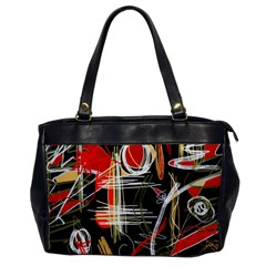 Artistic abstract pattern Office Handbags