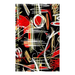 Artistic abstract pattern Shower Curtain 48  x 72  (Small)