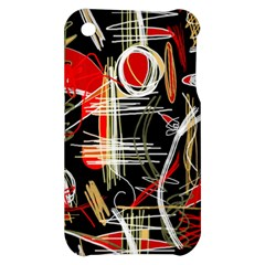 Artistic abstract pattern Apple iPhone 3G/3GS Hardshell Case