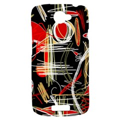Artistic abstract pattern HTC One S Hardshell Case