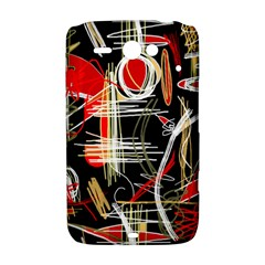 Artistic abstract pattern HTC ChaCha / HTC Status Hardshell Case