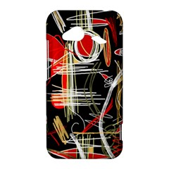 Artistic abstract pattern HTC Droid Incredible 4G LTE Hardshell Case