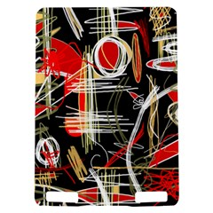 Artistic abstract pattern Kindle Touch 3G