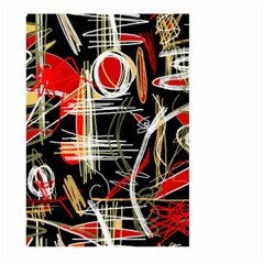 Artistic abstract pattern Large Garden Flag (Two Sides)