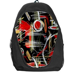 Artistic abstract pattern Backpack Bag