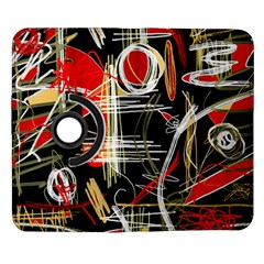 Artistic abstract pattern Samsung Galaxy Note II Flip 360 Case