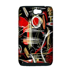 Artistic abstract pattern Samsung Galaxy Note 2 Hardshell Case (PC+Silicone)