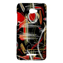 Artistic abstract pattern HTC Butterfly X920E Hardshell Case