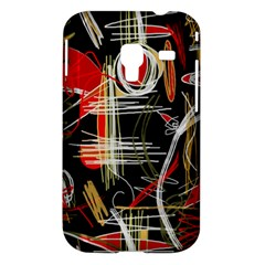 Artistic abstract pattern Samsung Galaxy Ace Plus S7500 Hardshell Case