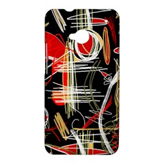 Artistic abstract pattern HTC One M7 Hardshell Case