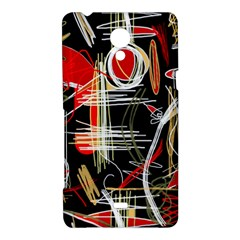 Artistic abstract pattern Sony Xperia T
