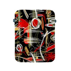 Artistic abstract pattern Apple iPad 2/3/4 Protective Soft Cases
