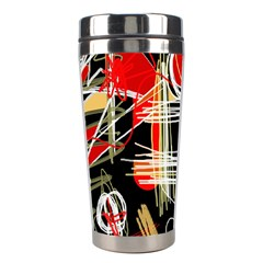 Artistic abstract pattern Stainless Steel Travel Tumblers
