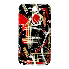 Artistic abstract pattern Samsung Note 2 N7100 Hardshell Back Case