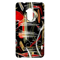 Artistic abstract pattern HTC One Max (T6) Hardshell Case