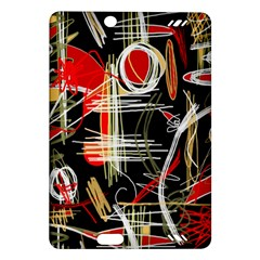 Artistic abstract pattern Amazon Kindle Fire HD (2013) Hardshell Case