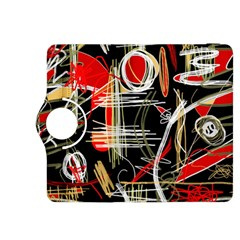 Artistic abstract pattern Kindle Fire HDX 8.9  Flip 360 Case