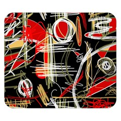Artistic abstract pattern Double Sided Flano Blanket (Small)