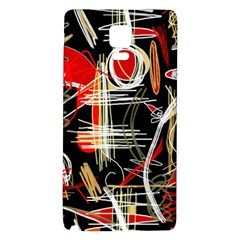 Artistic abstract pattern Galaxy Note 4 Back Case