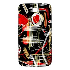 Artistic Abstract Pattern Samsung Galaxy Mega I9200 Hardshell Back Case