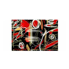 Artistic abstract pattern Satin Wrap