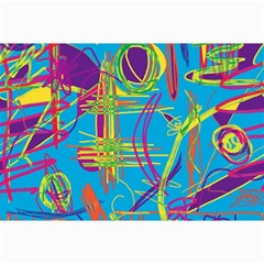 Colorful abstract pattern Collage Prints